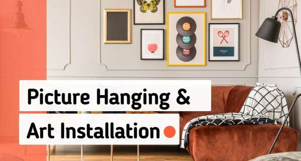 Picture Hanging and Art Installation