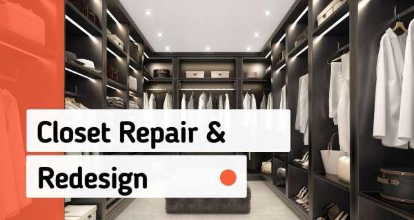 Closet Remodel Services
