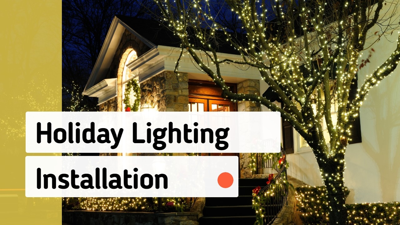Holiday Lights Installation & Removal